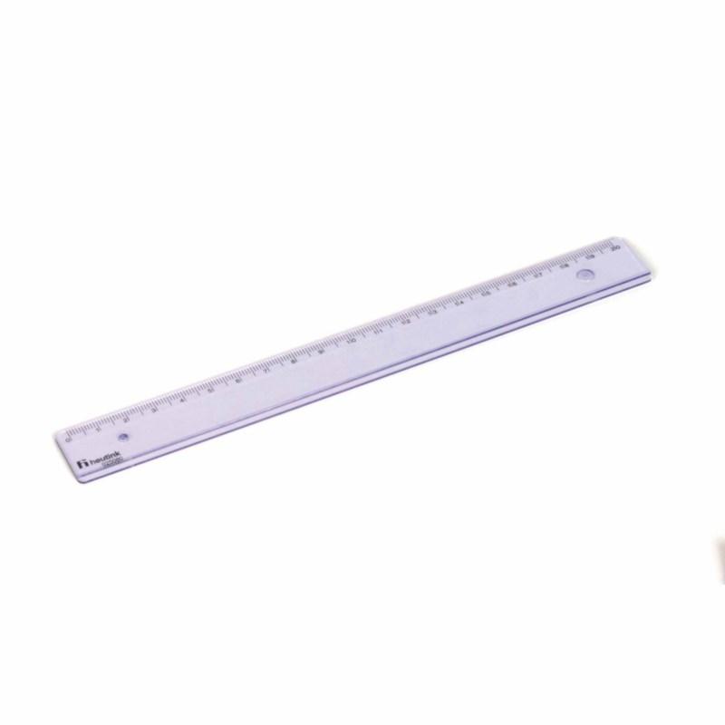 Ruler - Popular - Plastic - 20 cm