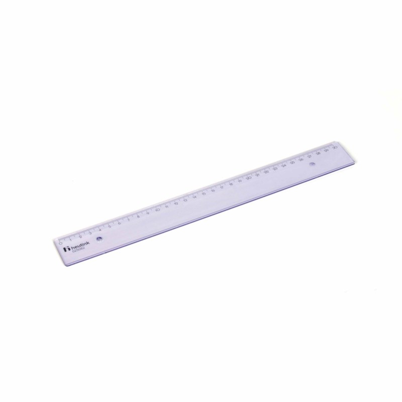 Ruler - Popular - Plastic - 30 cm