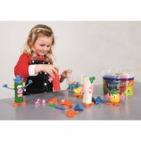 Moulding shapes - Funny clay figures