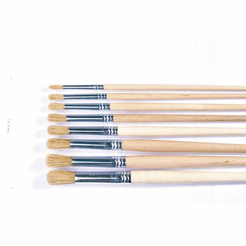 Paint brushes - Lyons - Round ferrule, short handled - Nr. 6