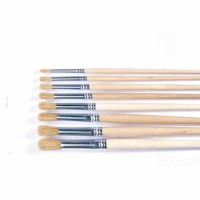 Paint brushes - Lyons - Round ferrule, short handled - Nr. 16