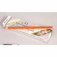 Crayons triangular Goldline - Heutink - Carton of 12 - Orange