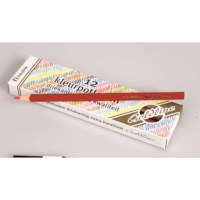 Crayons triangular Goldline - Heutink - Carton of 12 - Red