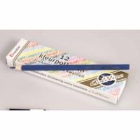 Crayons triangular Goldline - Heutink - Carton of 12 - Dark blue