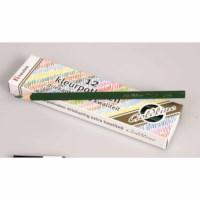 Crayons triangular Goldline - Heutink - Carton of 12 - Dark green
