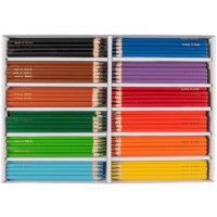 Crayons triangular Goldline - Heutink - Carton of 288 - Assorted colours