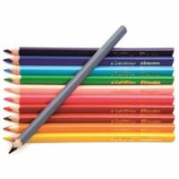 Jumbo Crayons triangular Goldline - Heutink - Carton of 12 - Assorted colours