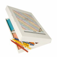 Jumbo Crayons triangular Goldline - Heutink - Carton of 144 - Assorted colours