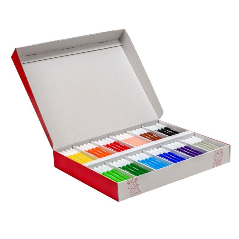 Felt tip pens - Thick Goldline - Heutink - Box of 120