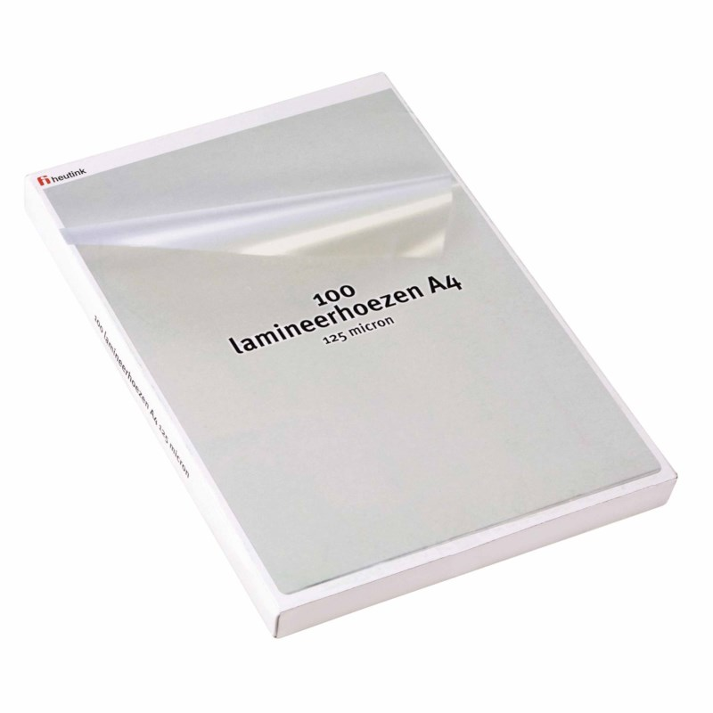 Laminating sheets - 125 µ A4 216 x 303 mm