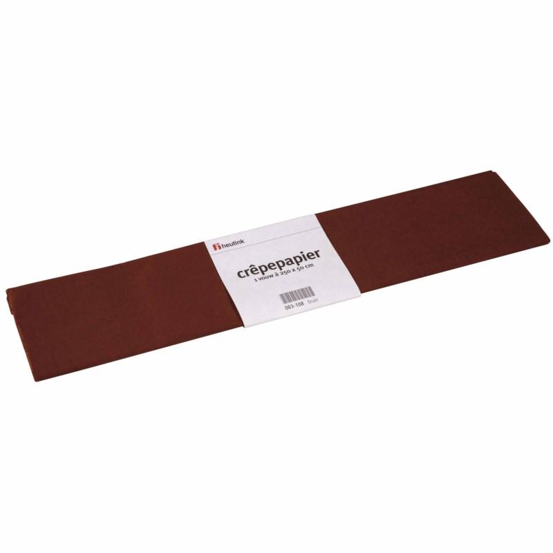 Crepe paper - Floriade - Brown