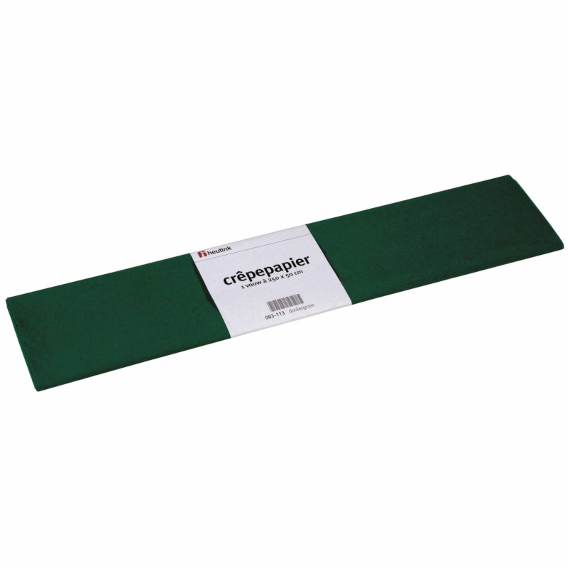 Crepe paper - Floriade - Dark green