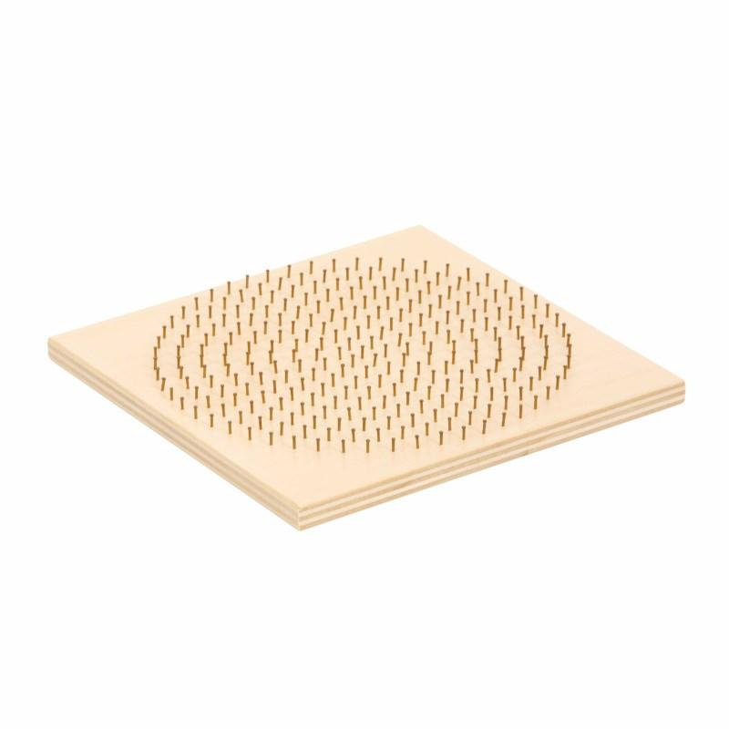 Bead board wood - round