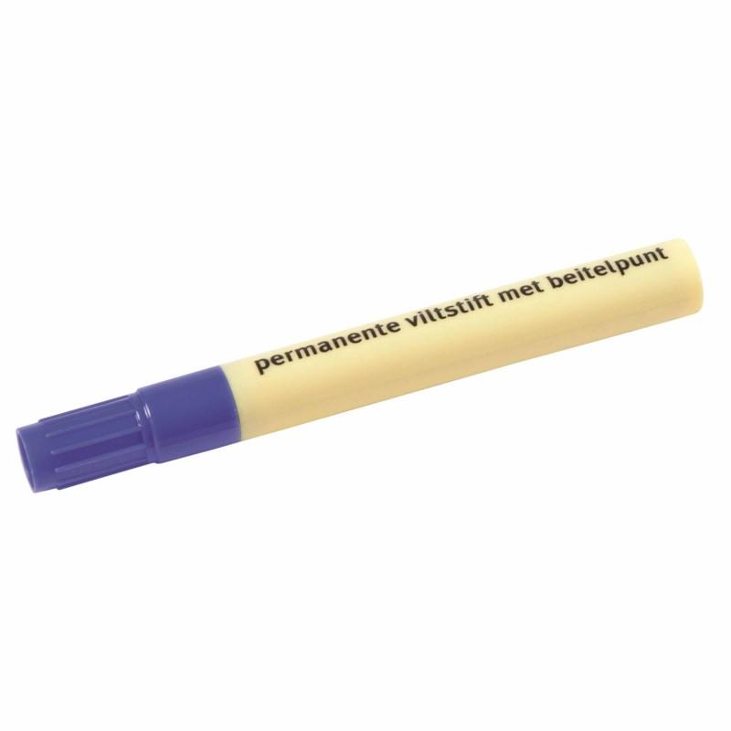 Marker - Heutink - Chisel tip - Blue