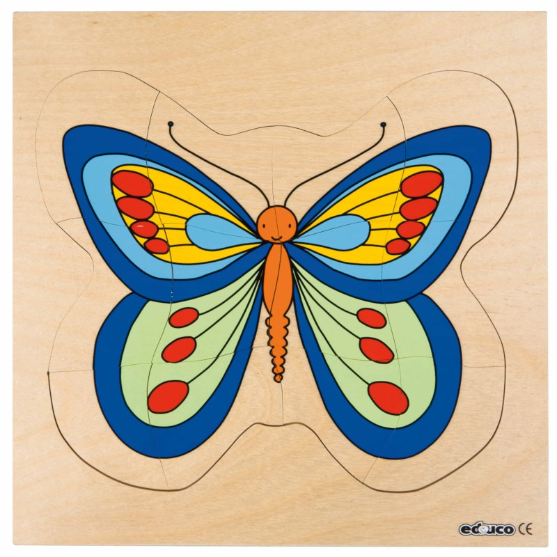 Growth puzzle - butterfly