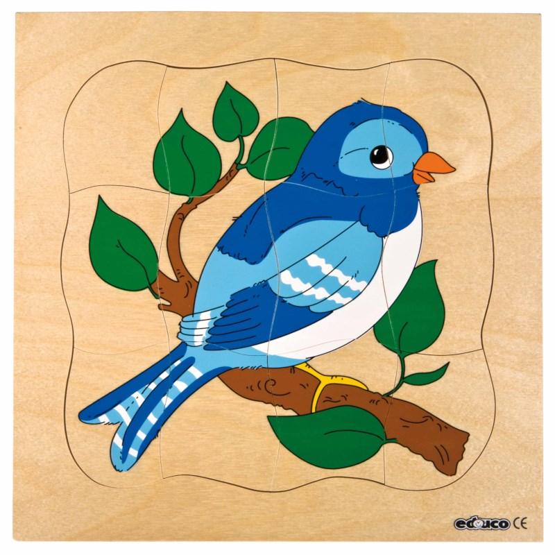 Growth puzzle - bird
