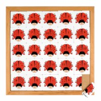Beetle counting game