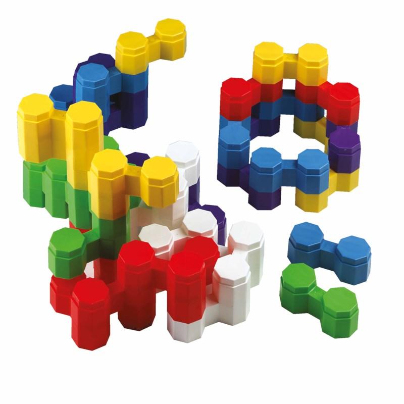 Building bricks Twin blocs