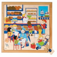 Shopping puzzle  - bakery