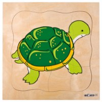 Growth puzzle - turtle