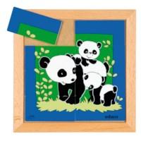 Animal puzzle mother + child - panda