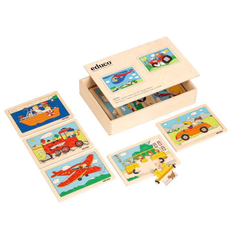 Vehicle puzzle box