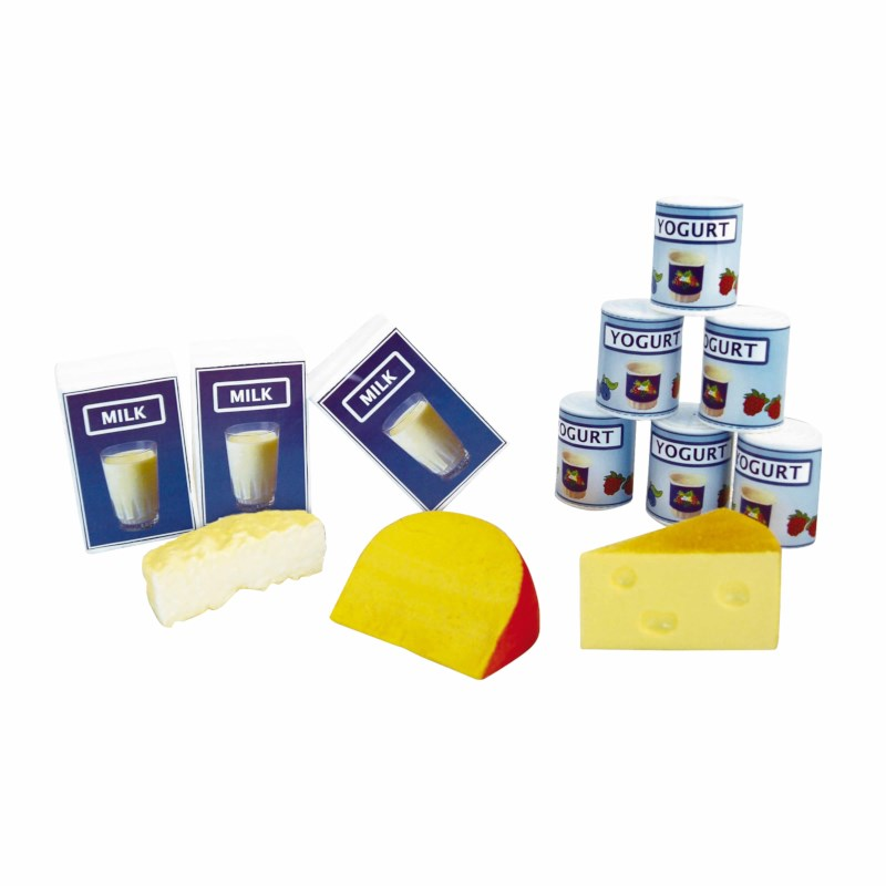 Milk, yoghurt and cheese set (12)