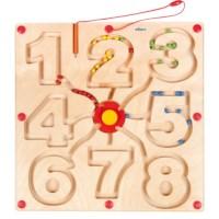 Motor skills board - numbers