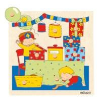 Knob puzzle surprise - living room
