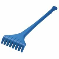 Rake 75 cm blue