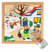 Seasons puzzle 1 - winter