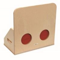 Tactile box wood