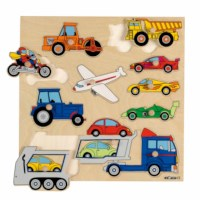 Knob puzzle - vehicles (11)