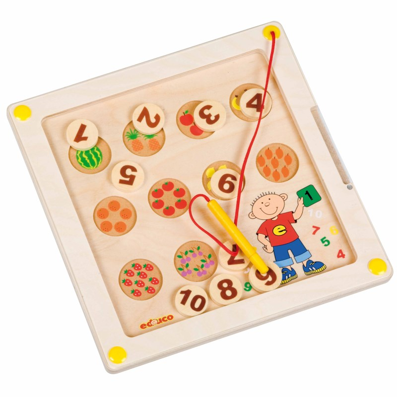Motor skills board - counting fruit
