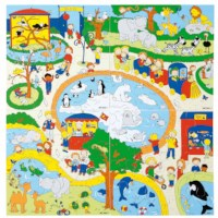 Zoo puzzles - set of 4