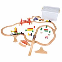 Railway train set