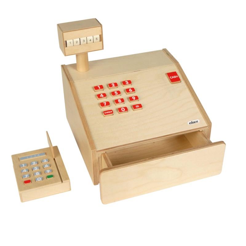 Cash register wood