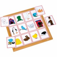 Sorting lotto - animals and their home