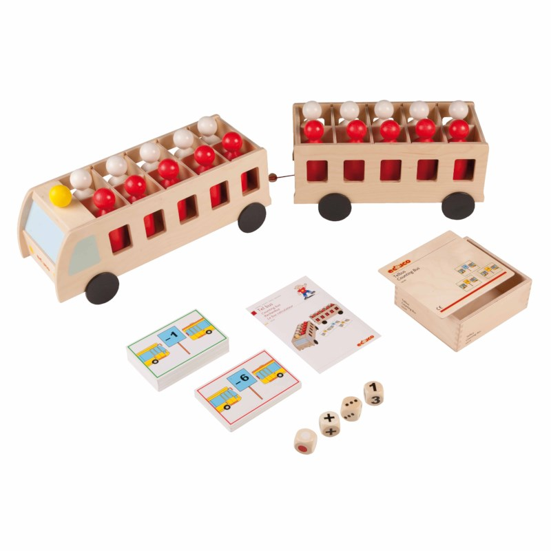 Counting bus with trailer - large