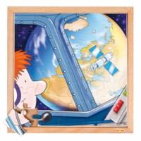 Astronautics puzzle - earth