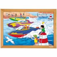 Power puzzle - boat race AR