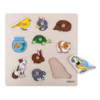 Knob puzzle - pets
