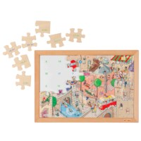 Math puzzle up to 20 - addition and subtraction (set 2)