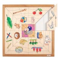 Spider sorting puzzle - quantities