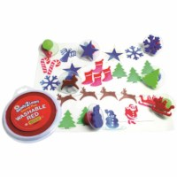 Stamps - Set of 10 - Christmas