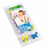 Jumbo stamps - Farm animals - Size 8 cm