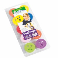 Jumbo stamps - Feelings and emotions - Size 8 cm