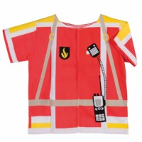 Dress up clothes - fireman (excl. helmet)