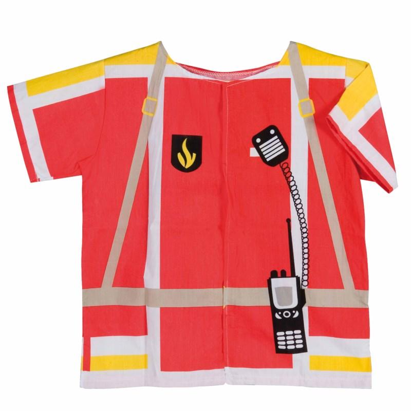 Dress up clothes - fireman (excl. helmet)