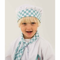 Dress up clothes - chef (incl. hat and apron)